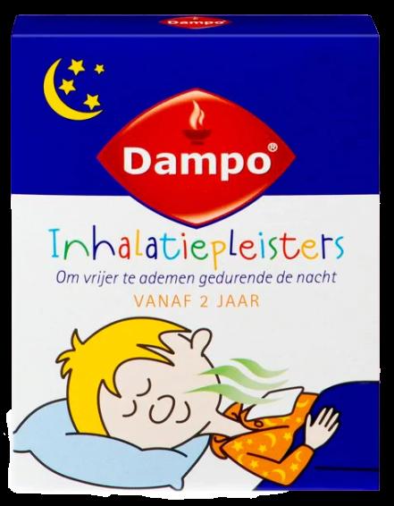 Dampo Kids inhalatiepleisters 6 stuks