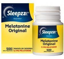 Sleepzz Melatonine original 500 smelttabletten