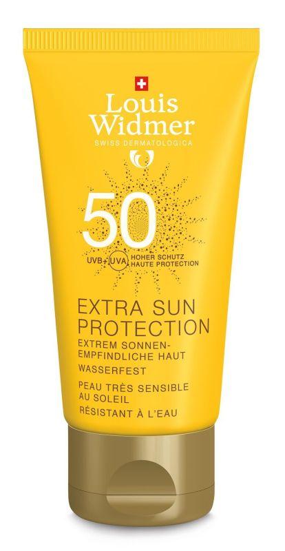 Louis Widmer Extra sun protection spf50 ongeparfumeerd 50ml